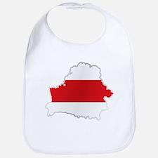 National territory and flag Belarus Bib