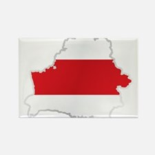 National territory and flag Belarus Magnets