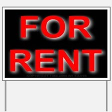 For Rent Yard Sign