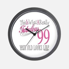 99th Birthday Gift Wall Clock