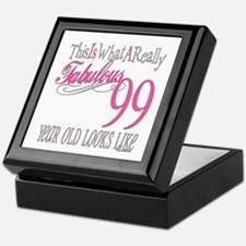 99th Birthday Gift Keepsake Box