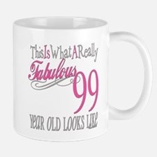 99th Birthday Gift Small Small Mug