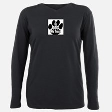 Unique Logo Plus Size Long Sleeve Tee