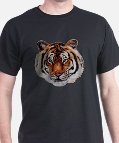 Unique Kung fu tiger T-Shirt