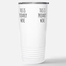 Wine whore Travel Mug