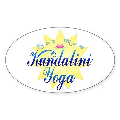 Kundalini Yoga Sticker (Oval)