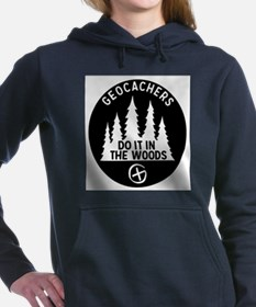 Geocachers Do It In The Women's Hooded Sweatshirt