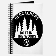 Geocachers Do It In The Woods Journal
