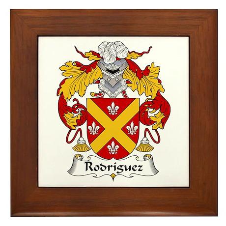 Rodríguez I Framed Tile