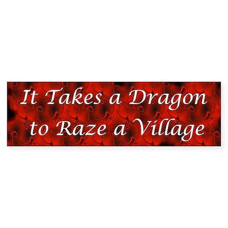 dragonbumper2 Bumper Sticker
