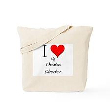 I Love My Theatre Director Tote Bag