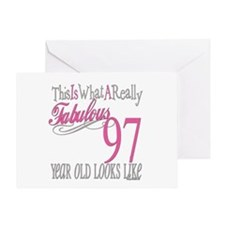 97th Birthday Gifts Greeting Card