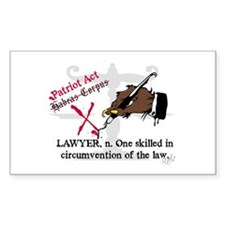 Got Lawyers? Rectangle Decal