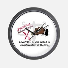 Got Lawyers? Wall Clock