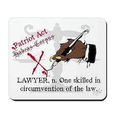 Got Lawyers? Mousepad