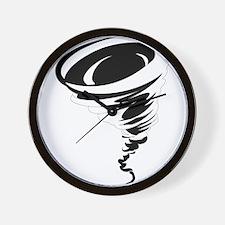Tornado design art Wall Clock