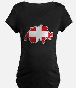 National territory and flag Swit Maternity T-Shirt