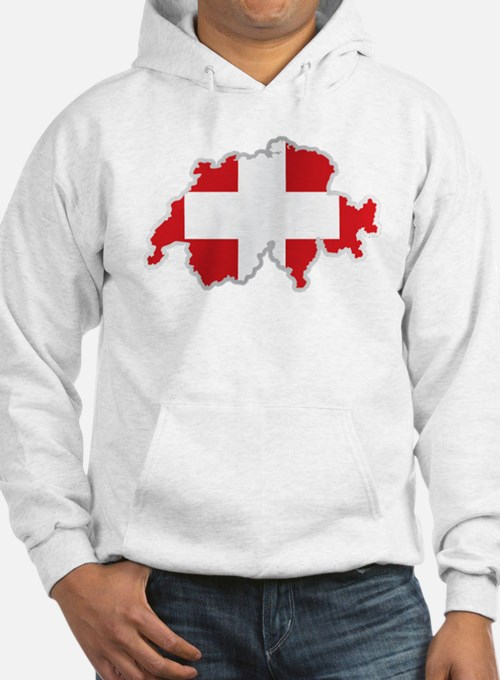 National territory and flag Swit Hoodie