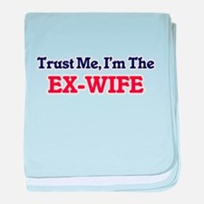 Trust Me, I'm the Ex-Wife baby blanket
