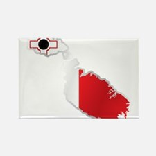 National territory and flag Malta Magnets