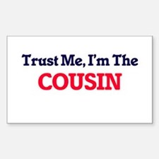 Trust Me, I'm the Cousin Decal