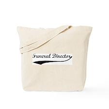 Funeral Director (vintage) Tote Bag