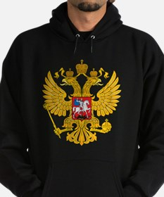 Cute Russian coat arms Hoodie