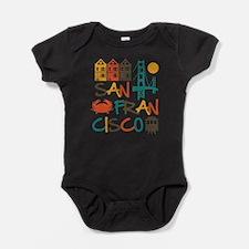 Unique San francisco Baby Bodysuit