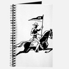 African American soldier on horse Journal