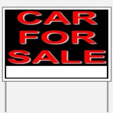 Car For Sale Yard Sign