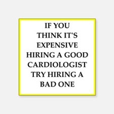 hiring joke Sticker