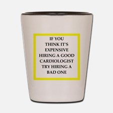 hiring joke Shot Glass
