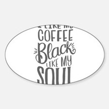 black coffee - 2 Decal