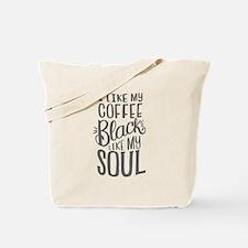 black coffee - 2 Tote Bag
