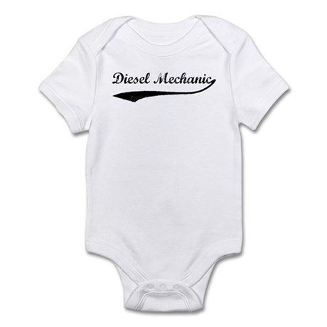 Diesel Mechanic (vintage) Infant Bodysuit