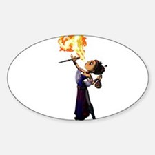Fire Eater Decal