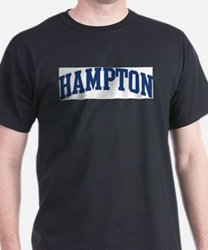 HAMPTON design (blue) T-Shirt