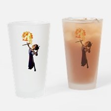 Fire Eater Drinking Glass