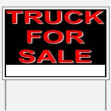 Truck For Sale Yard Sign