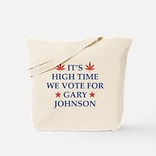 High Time We Vote Tote Bag