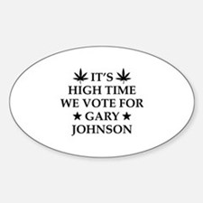 High Time We Vote Decal