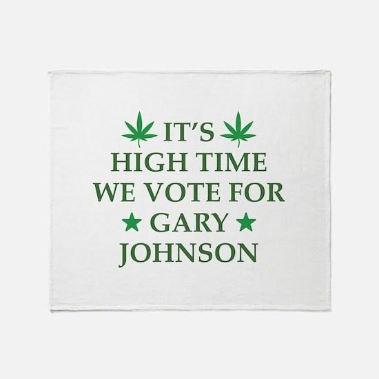 High Time We Vote Stadium Blanket