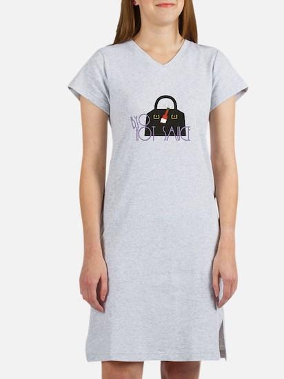 BYO Hot Sauce Women's Nightshirt