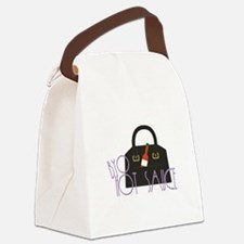 BYO Hot Sauce Canvas Lunch Bag