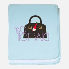 BYO Hot Sauce baby blanket