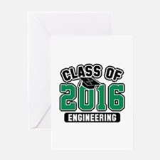 Class Of 2016 Engineering Greeting Card
