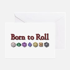 Born to Roll Greeting Cards