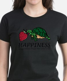 Happiness is (turtle/strawberry) T-Shirt