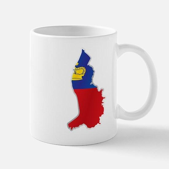 National territory and flag Liechtenstein Mugs