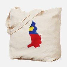 National territory and flag Liechtenstein Tote Bag
